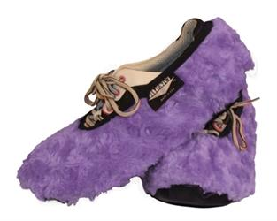 FUZZY SHOE COVER LAVANDER