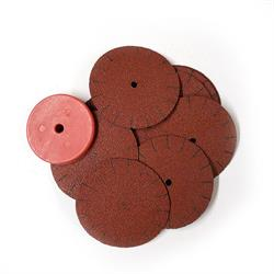 100 GRIT 1 3/4 SANDING DISC - 10pz. + Washer