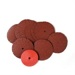 80 GRIT 1 3/4 SANDING DISC - 10pz. + Washer